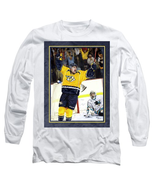 He Shoots He Scores Long Sleeve T-Shirt