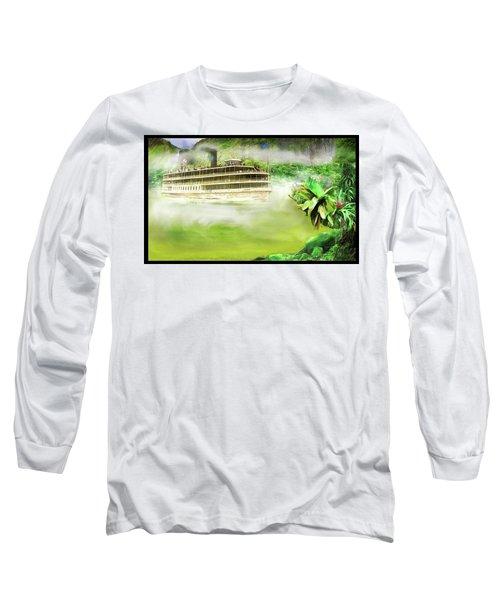 Heart Of Darkness Long Sleeve T-Shirt by Michael Cleere