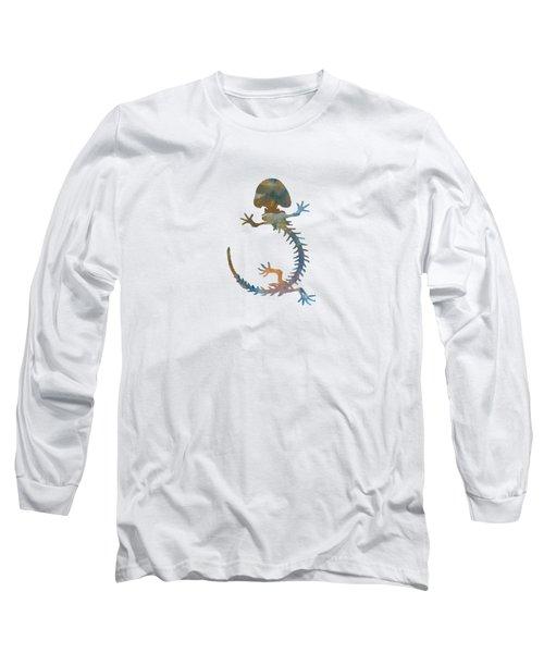Hellbender Skeleton Long Sleeve T-Shirt by Mordax Furittus