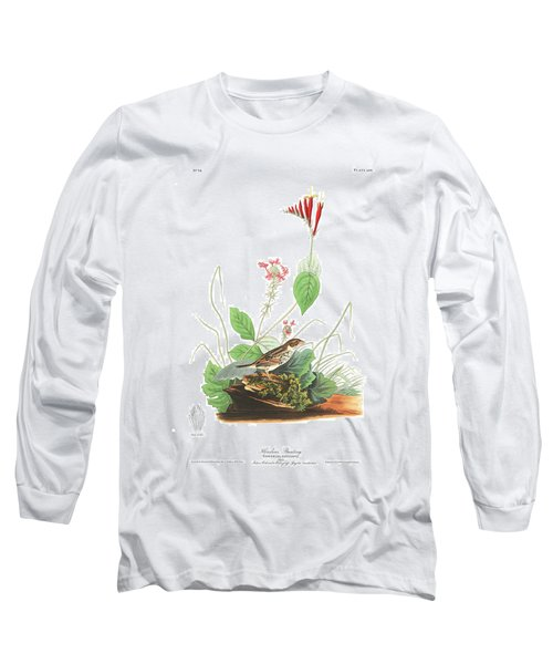 Henslow's Bunting  Long Sleeve T-Shirt