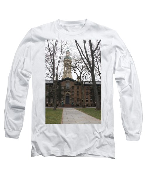 Long Sleeve T-Shirt featuring the photograph Historic Princeton by Vadim Levin