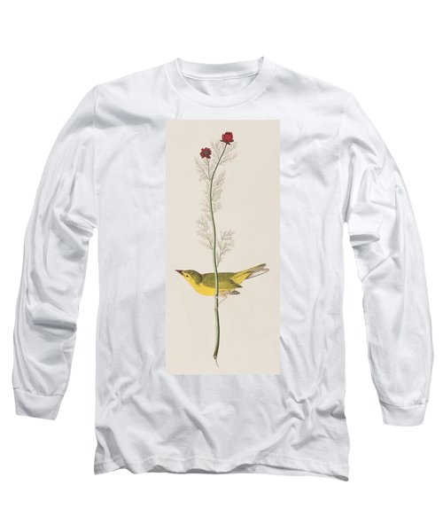 Hooded Warbler Long Sleeve T-Shirt