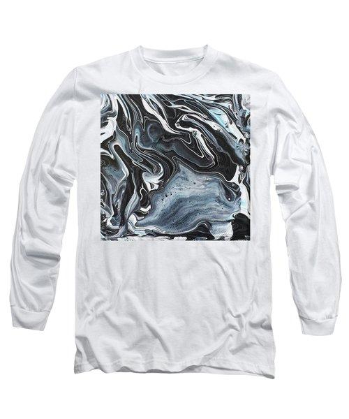 I Know It Looks Like Marble Long Sleeve T-Shirt