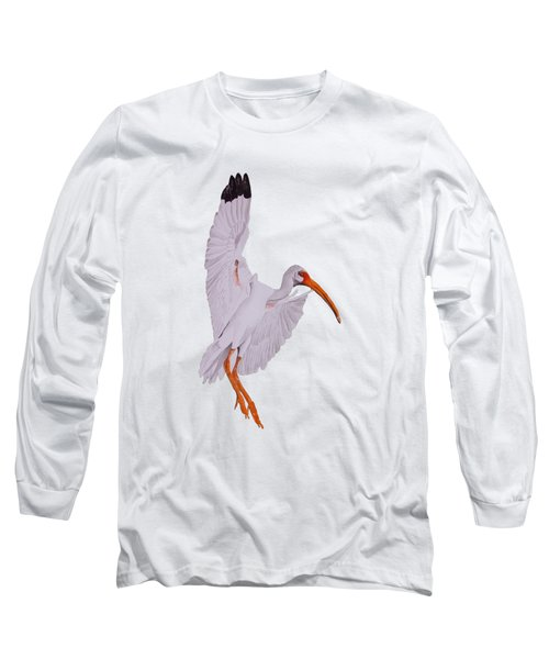 Ibis Landing Long Sleeve T-Shirt by Gary Thomas