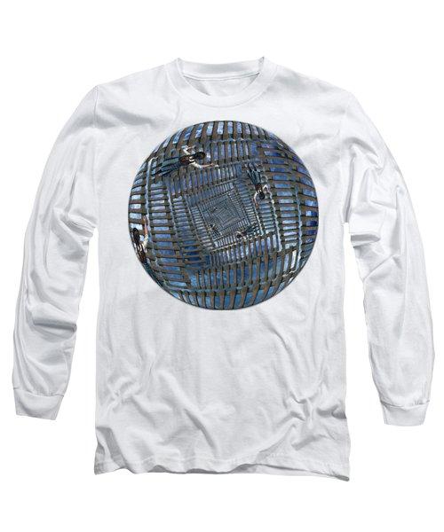 Infinity Ladders Long Sleeve T-Shirt by John Haldane
