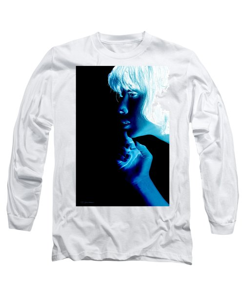 Inverted Realities - Blue  Long Sleeve T-Shirt