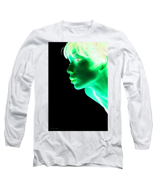 Inverted Realities - Green  Long Sleeve T-Shirt