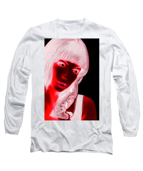 Inverted Realities - Red  Long Sleeve T-Shirt