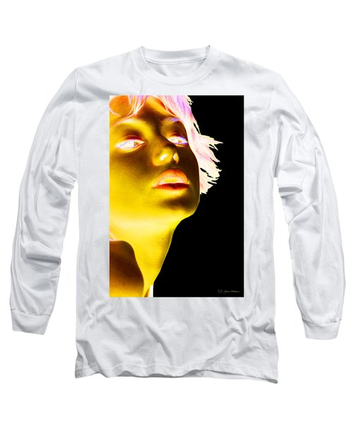 Inverted Realities - Yellow  Long Sleeve T-Shirt