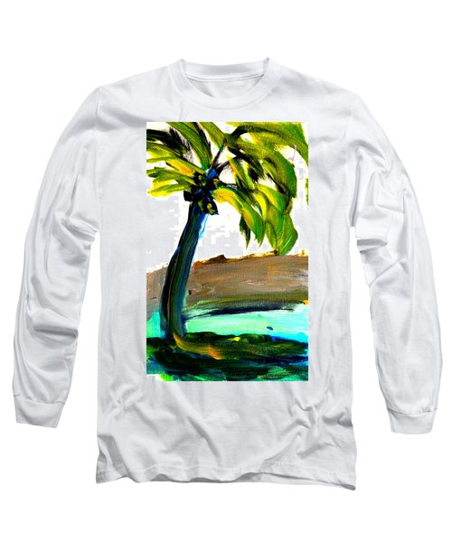 Island Time Long Sleeve T-Shirt by Fred Wilson