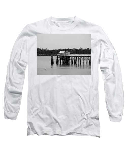 Jonesport, Maine Long Sleeve T-Shirt