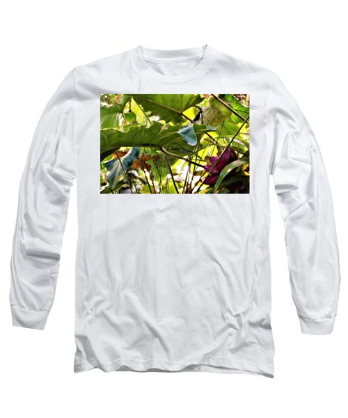 Long Sleeve T-Shirt featuring the photograph Jungle Jive by Mindy Newman