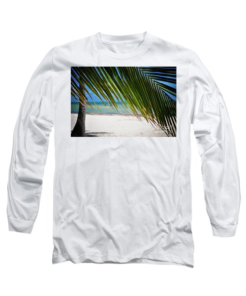 Long Sleeve T-Shirt featuring the photograph Key West Palm by Kelly Wade