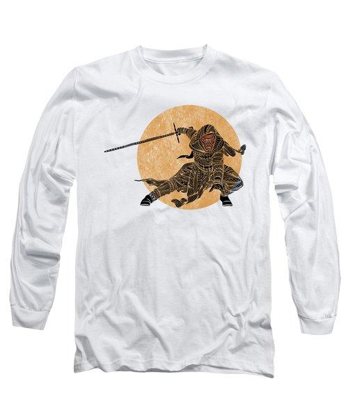 Kylo Ren - Star Wars Art Long Sleeve T-Shirt