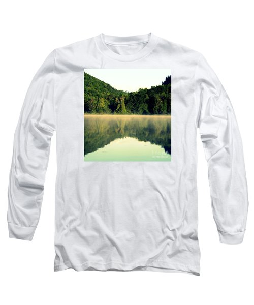Long Sleeve T-Shirt featuring the photograph Lake by France Laliberte
