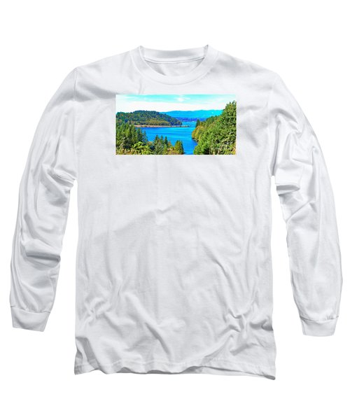 Lake Mayfield Long Sleeve T-Shirt by Ansel Price