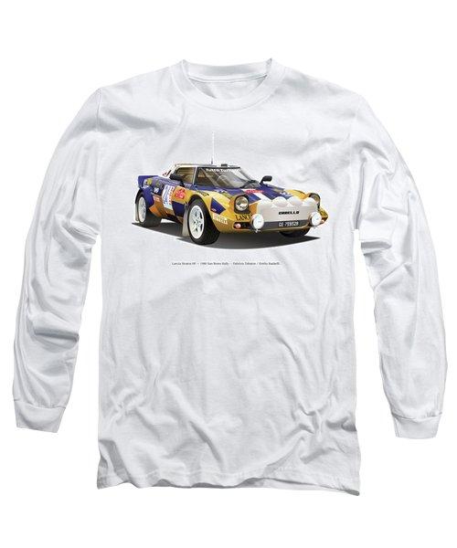 Lancia Stratos Hf Long Sleeve T-Shirt