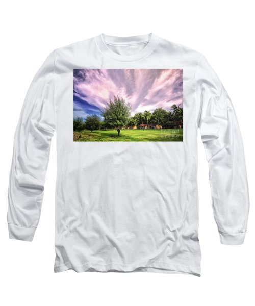 Long Sleeve T-Shirt featuring the photograph Landscape  by Charuhas Images
