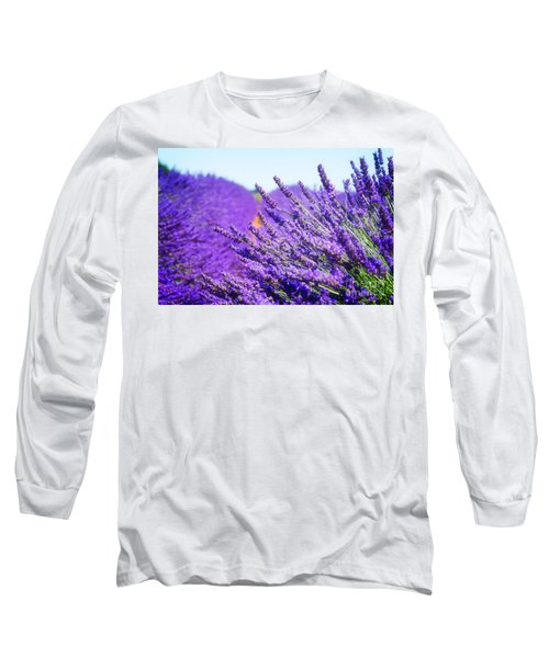 Lavender Field Long Sleeve T-Shirt