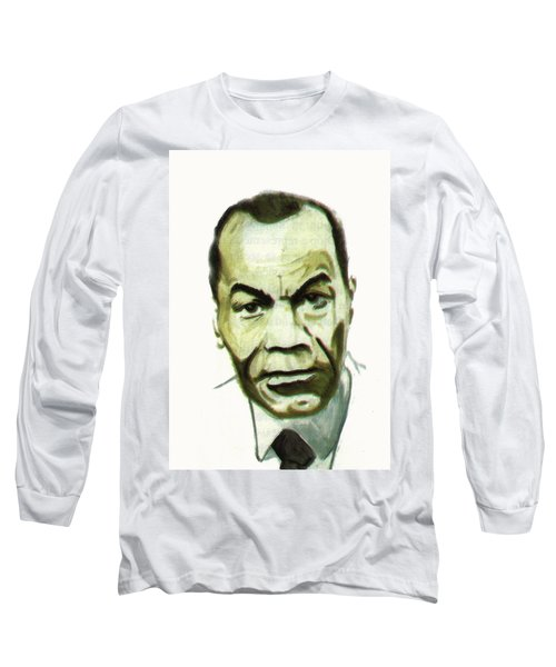 Leon Gontran Damas Long Sleeve T-Shirt by Emmanuel Baliyanga