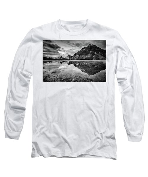 Long Sleeve T-Shirt featuring the photograph Light On The Peak by Jon Glaser