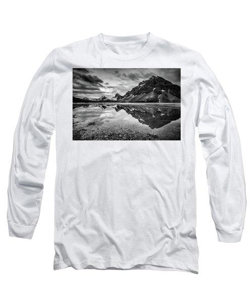 Light On The Peak Long Sleeve T-Shirt by Jon Glaser