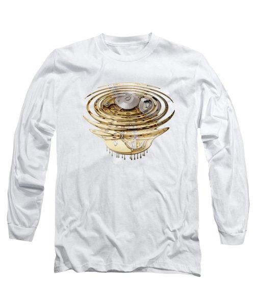 Liquefied Clockwork Long Sleeve T-Shirt