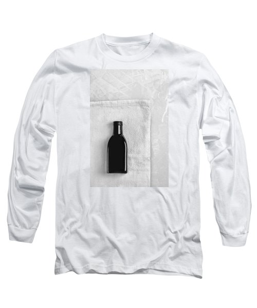 Long Sleeve T-Shirt featuring the photograph Little Black Bottle  by Andrey  Godyaykin