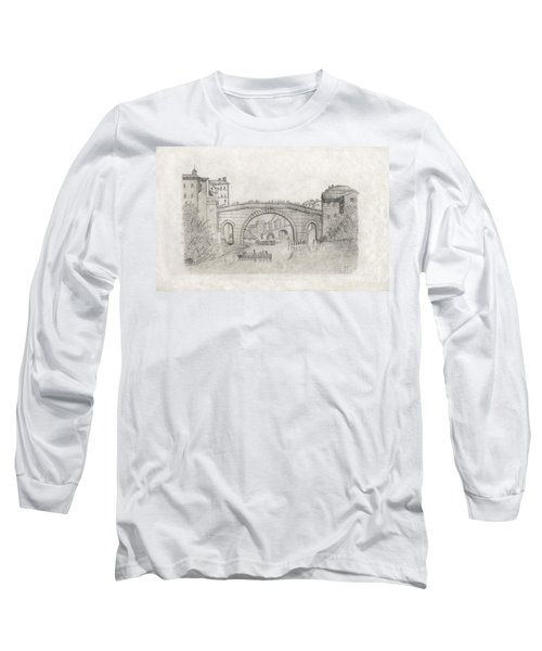 Liverpool Bridge Long Sleeve T-Shirt