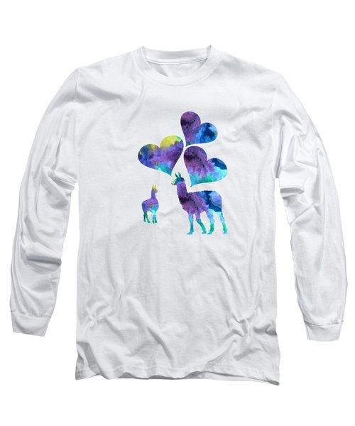 Llamas Long Sleeve T-Shirt