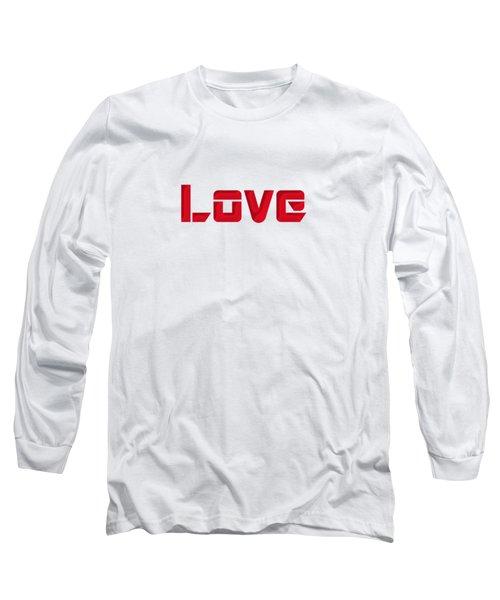 Love Long Sleeve T-Shirt by Mim White