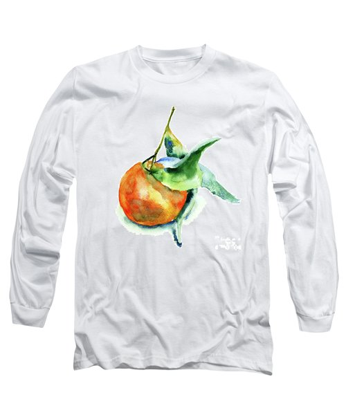Mandarin Fruits Long Sleeve T-Shirt