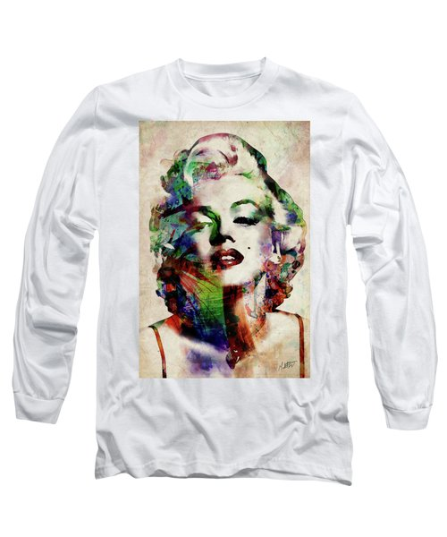 Marilyn Long Sleeve T-Shirt