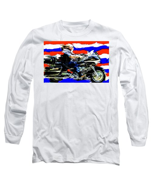 Mead In America Long Sleeve T-Shirt