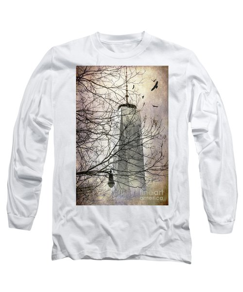 Memorial Long Sleeve T-Shirt by Judy Wolinsky