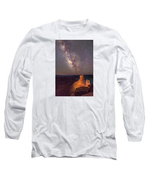 Milky Way At Marlboro Point Long Sleeve T-Shirt