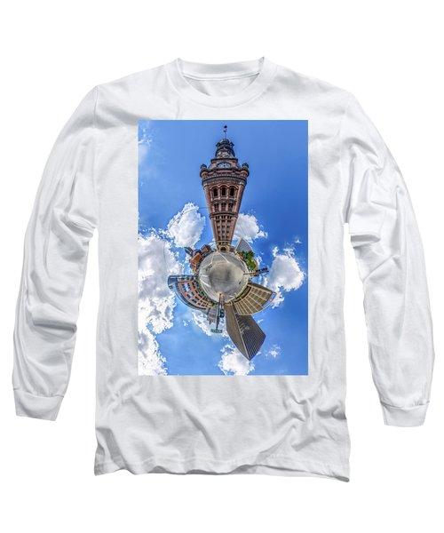 Milwaukee City Hall Long Sleeve T-Shirt