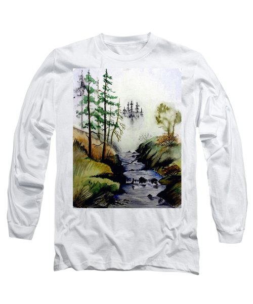 Misty Creek Long Sleeve T-Shirt by Jimmy Smith