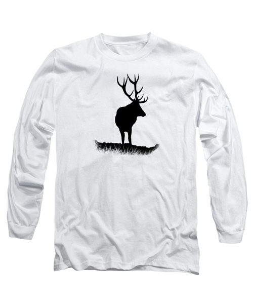 Monarch Of The Park  Long Sleeve T-Shirt by Linsey Williams