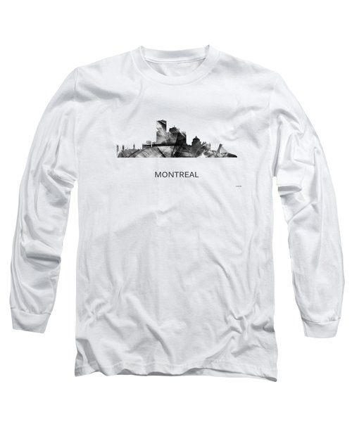 Montreal Que.skyline Long Sleeve T-Shirt