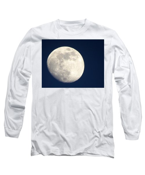 Moon In Blue Long Sleeve T-Shirt
