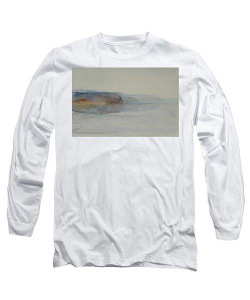 Morning Haze In The Swedish Archipelago On The Westcoast. Up To 36 X 23 Cm Long Sleeve T-Shirt
