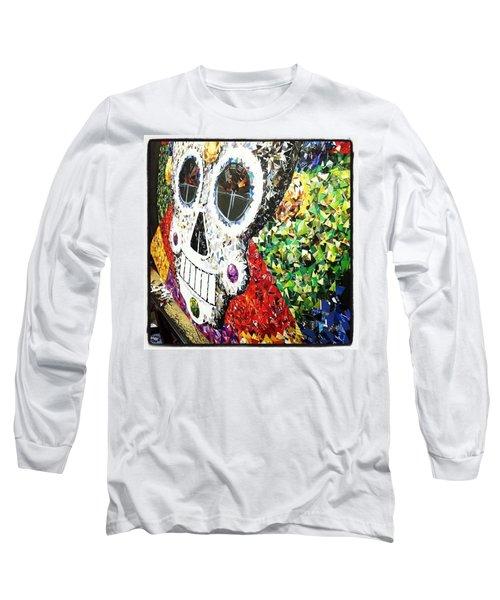#mosaic #decoupage #collage #hood Long Sleeve T-Shirt