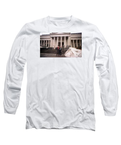 Moscow Consert Hall Long Sleeve T-Shirt by Ted Pollard