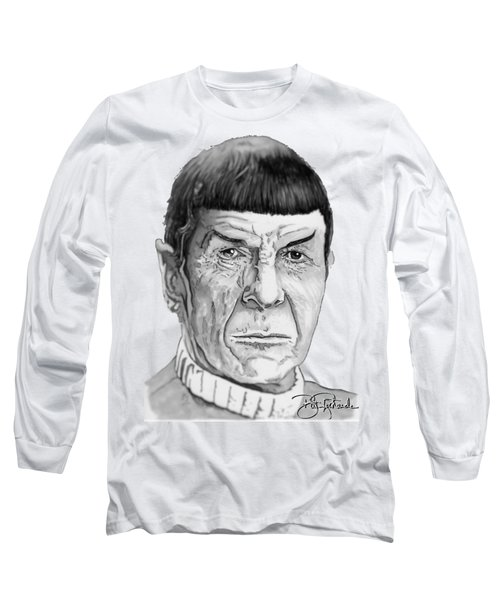 Mr Spock Long Sleeve T-Shirt