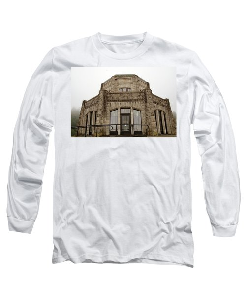 Vista House, Columbia River Gorge, Or. Long Sleeve T-Shirt