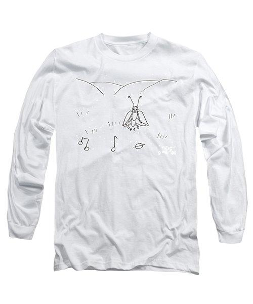 Musical Notes Long Sleeve T-Shirt