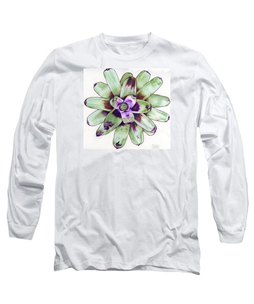 Neoregelia 'painted Delight' Long Sleeve T-Shirt