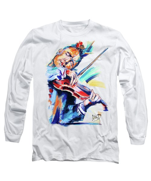 Nigel Kennedy Long Sleeve T-Shirt