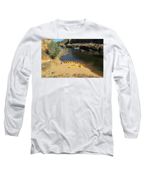 Nitmiluk Gorge Kayaks Long Sleeve T-Shirt